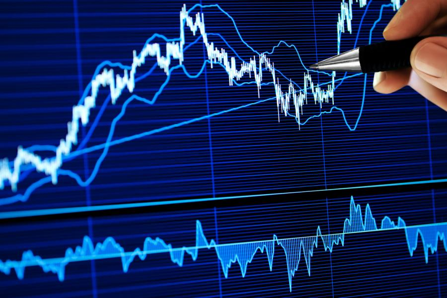 Stock Trade Rising