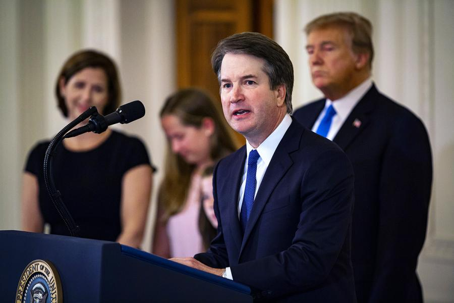 Nominee to the Supreme Court of the United States Brett Kavanaugh
