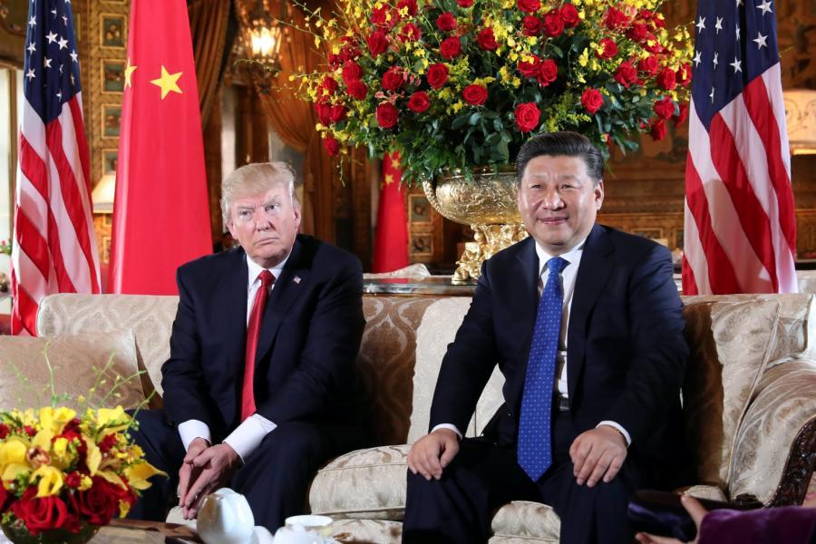 President Trump welcomed President Xi at his Mar-a-Lago estate, Carlos Barria/Reuters.