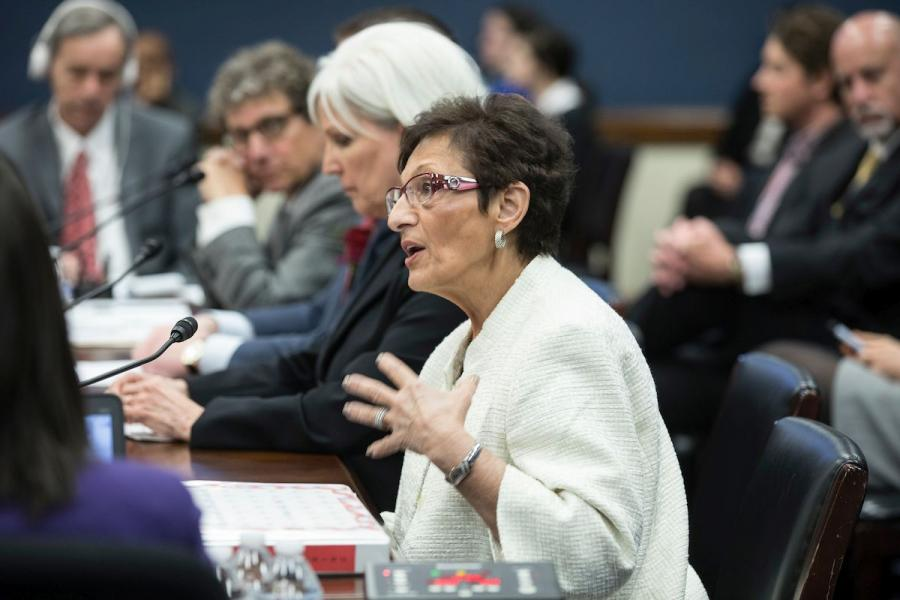 U.S. Chamber Small Business Council Chair and founder of Utah-based Cuisine Unlimited Maxine Turner testifies before the House Small Business Committee.
