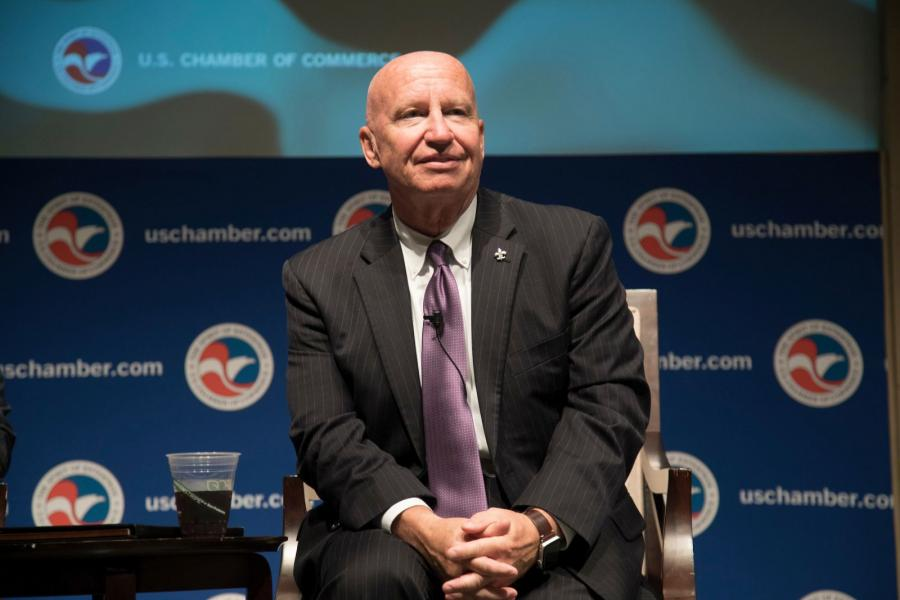 House Ways and Means Chairman Kevin Brady (R-TX) speaks about tax reform at the U.S. Chamber.