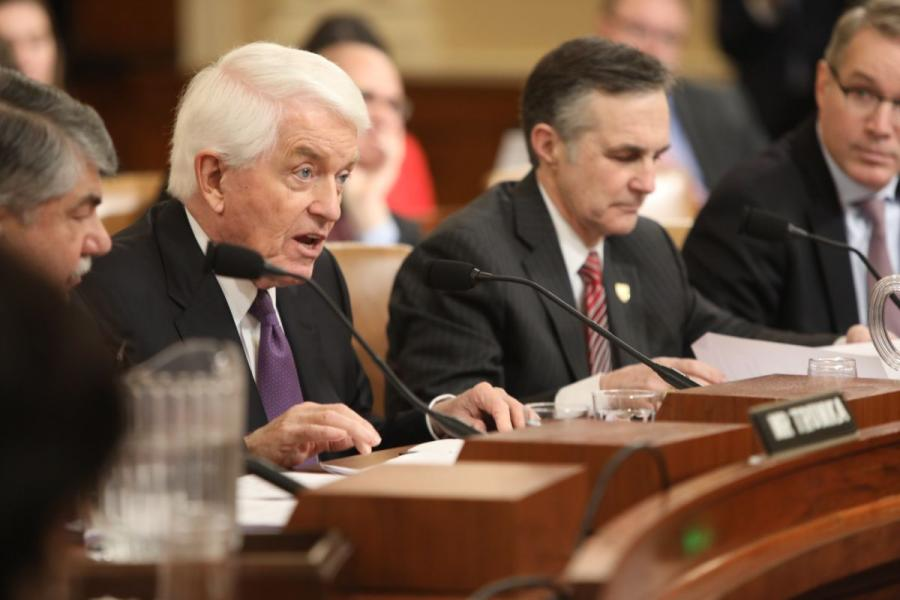U.S. Chamber President and CEO Tom Donohue testifies before the House Ways and Means Committee on fixing our infrastructure.