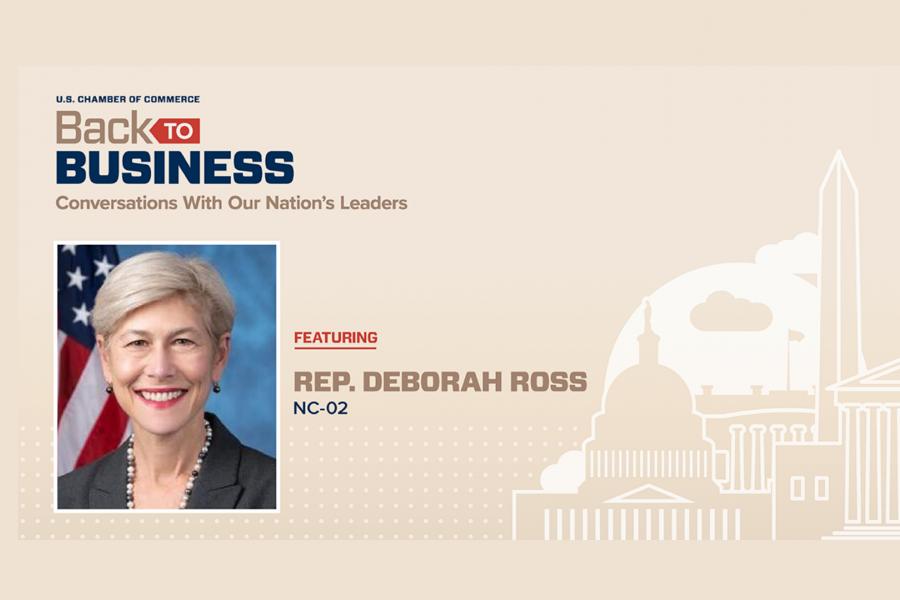 Back to Business - Deborah Ross