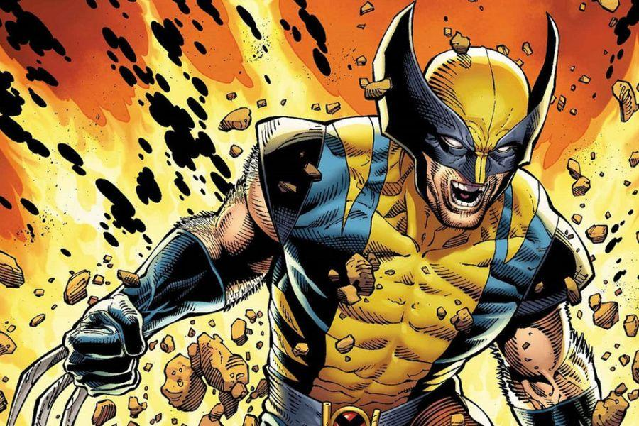 Comic book character, Wolverine.