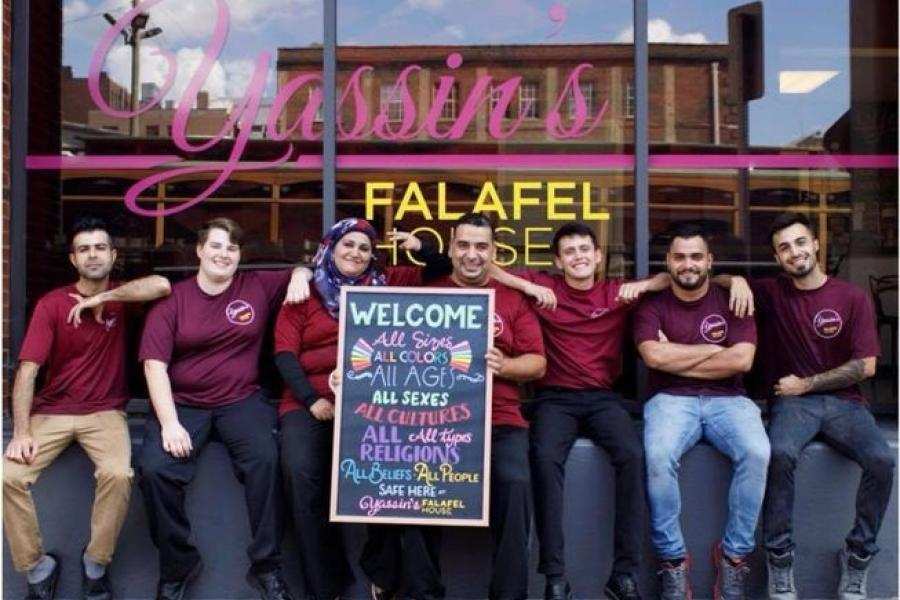 Yassin's Falafel House Finalist