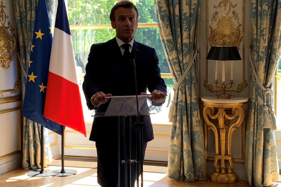 US Chamber Delegation participates in the B7 Summit with President Macron