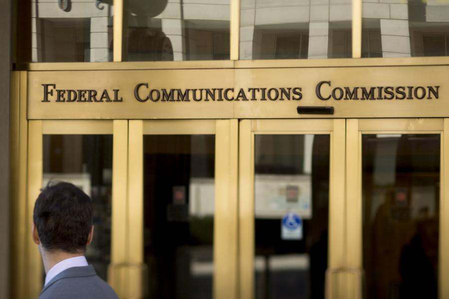 Front of the FCC's headquarters in Washington, D.C.