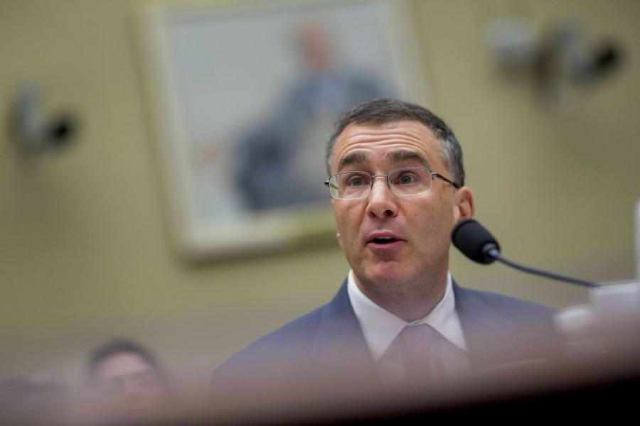 MIT Professor Jonathan Gruber speaks during a House Oversight Committee.