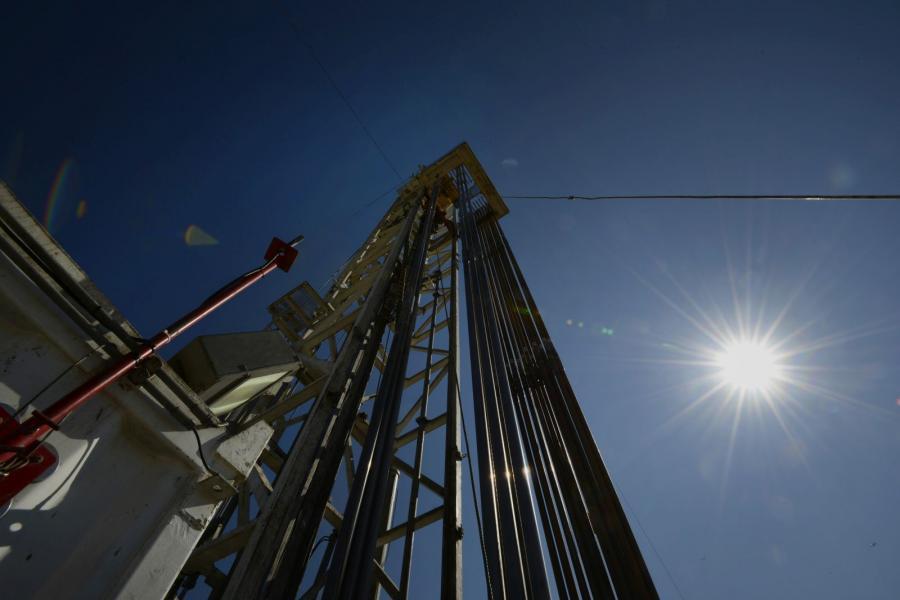An Anadarko oil rig in Fort Lupton, Colo.