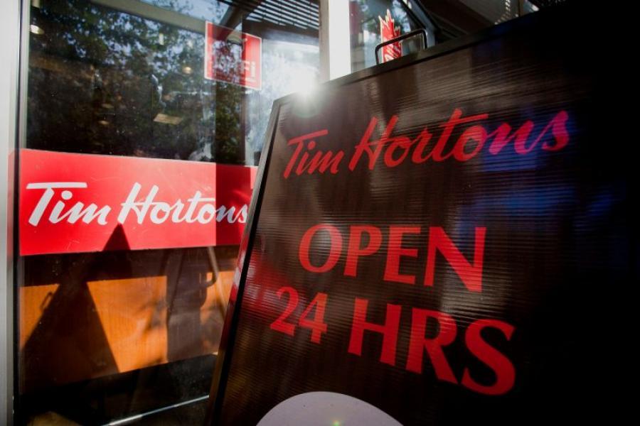 Tim Horton's Open 24 Hours