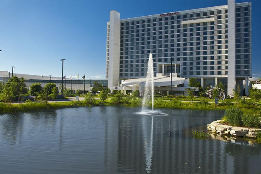 Convention Center Hotel Exterior