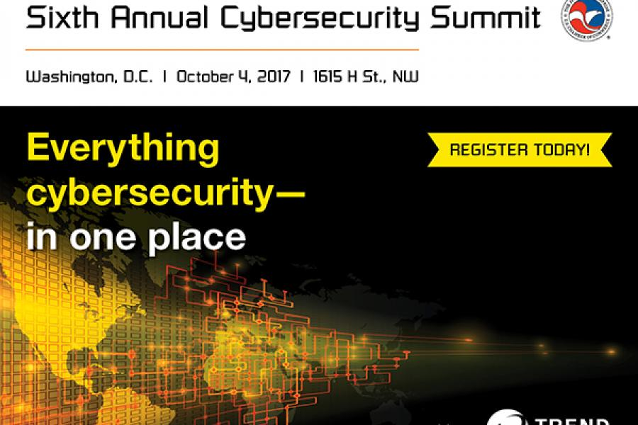 Sixth Annual Cybersecurity Summit Register Now