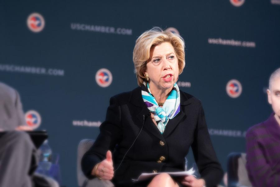 Honorable Ellen Lord discusses how the new Conventional Arms Transfer policy will be implemented in practice with consideration of the industry base factors in export decisions.