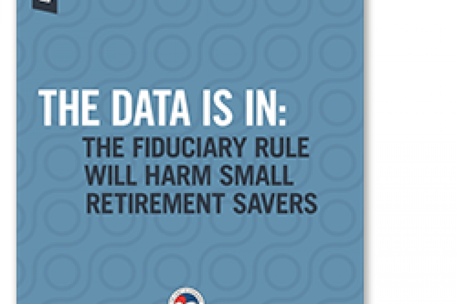 Fiduciary Rule Report Cover