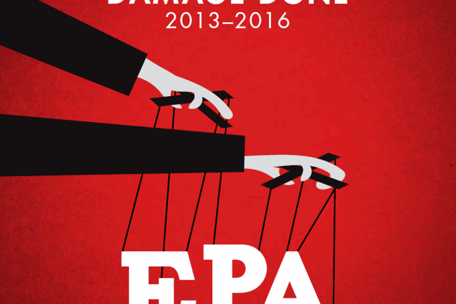 sue and settle report, epa, consent decree, settlements, transparency, regulatory reform