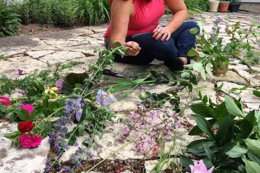 Liz Egan at Floral Alchemy in Milwaukee, WI