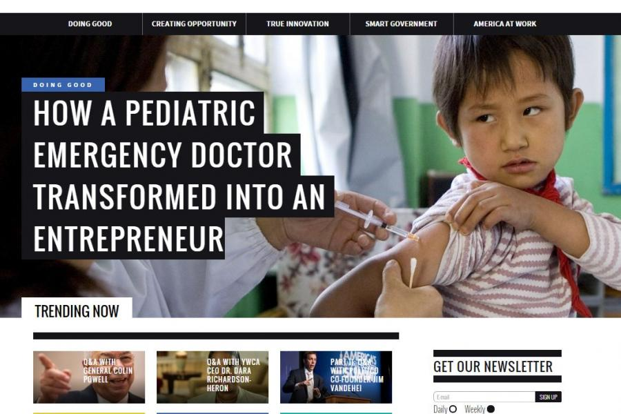 FreeEnterprise.com screenshot