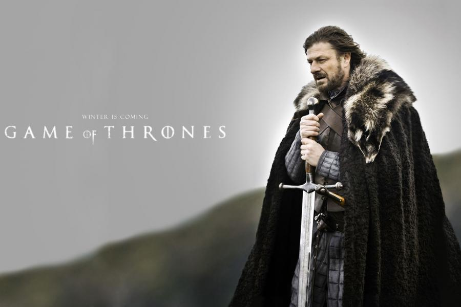 """""""Winter is coming"""" Game of Thrones promo photo"""