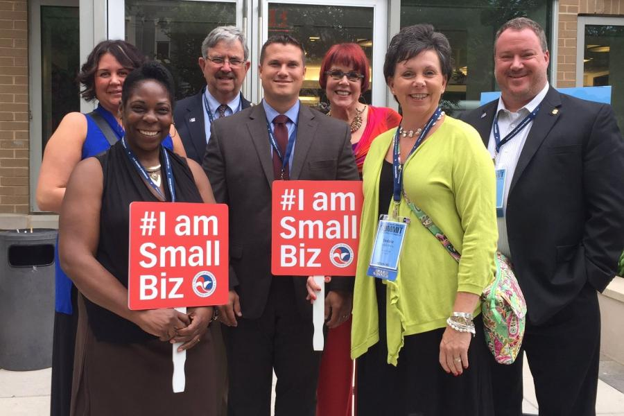 America's Small Business Summit 2016 attendees visit Capitol Hill.