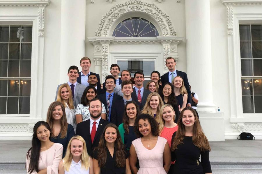 Intern photo White House Tour 2017