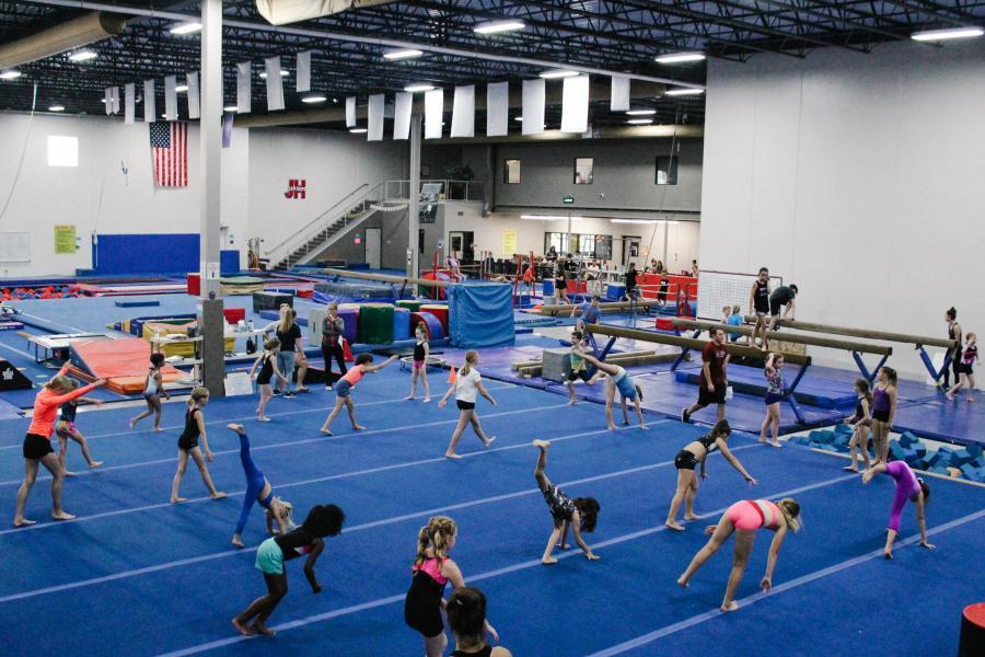 Jam Hops Gymnastic Factory skills clinic