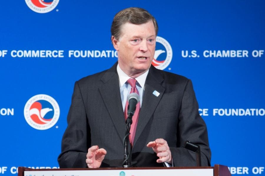 John McKernan Jr., president of the U.S. Chamber of Commerce Foundation.