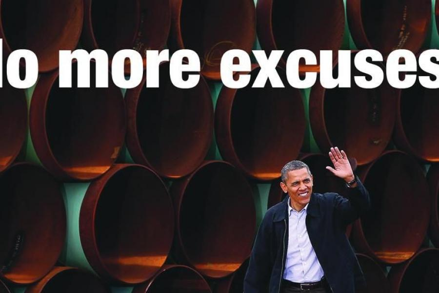 President Obama has no more excuses for delaying the Keystone XL pipeline.