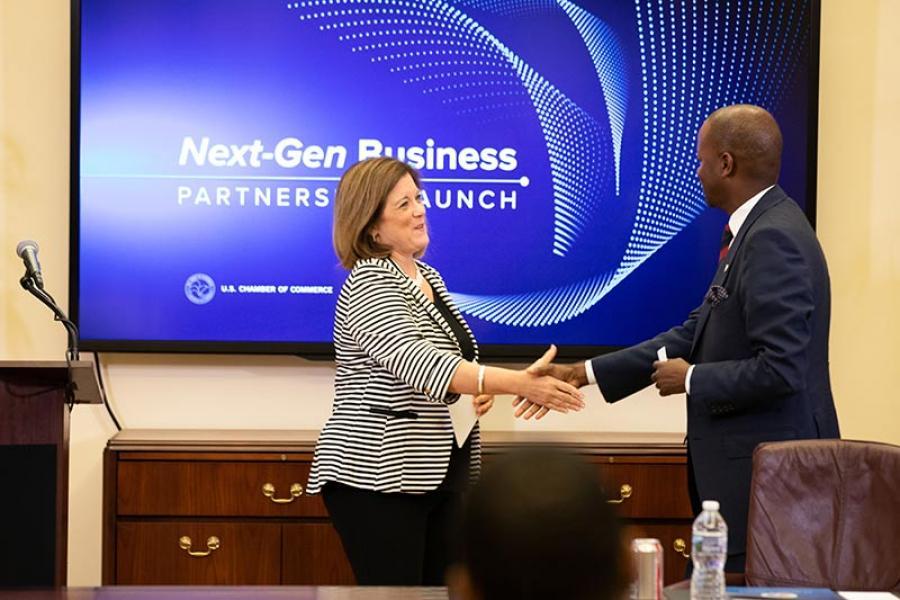 Next Gen Launch - Handshake