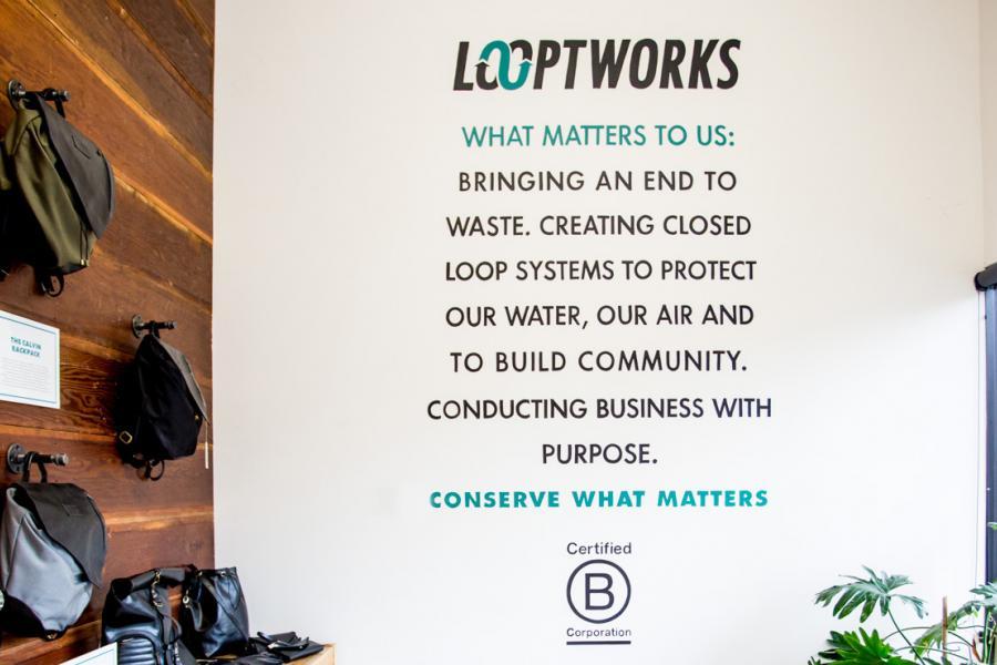 Looptworks sign