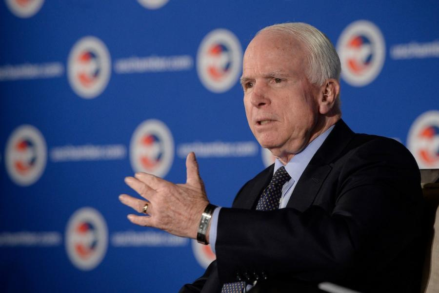 John McCain addresses the Procurement and Space Industry Council