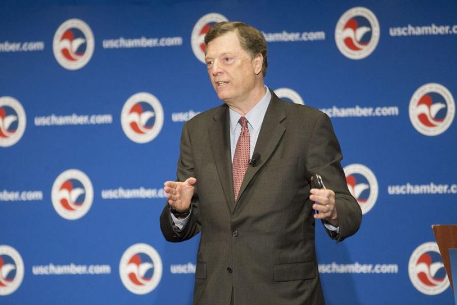 U.S. Chamber of Commerce Foundation President John McKernan.