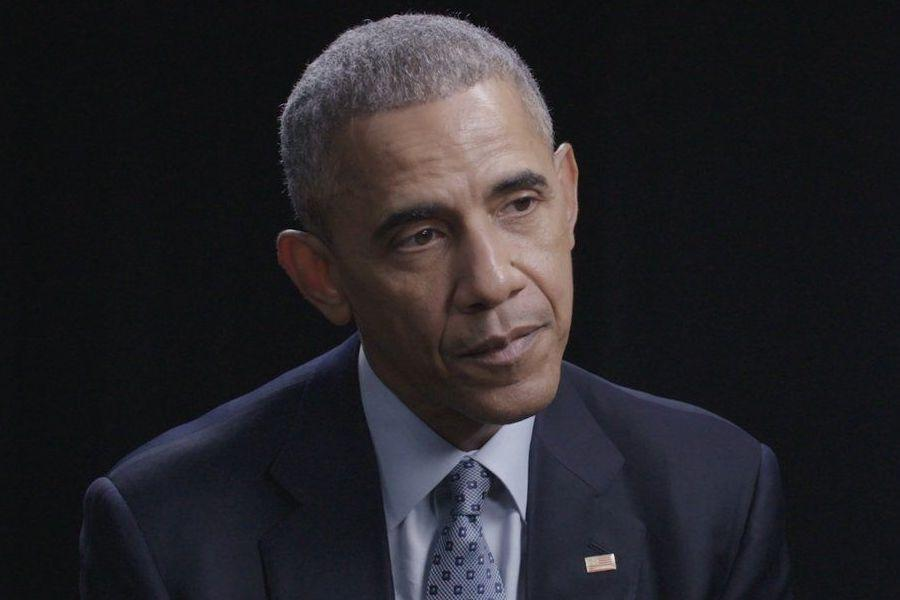 Screenshot from the 11/02/2016 President Obama interview with NowThis.