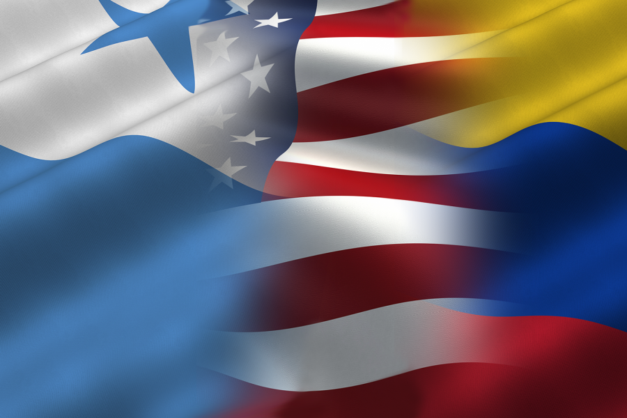 Panama And Colombia Doubling Down On Trade And Diplomacy US - Panama flags