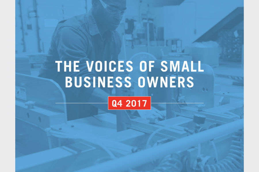 Small Business Index Cover Image - Q4
