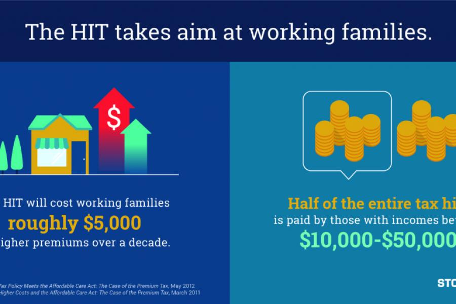 The Health Insurance Tax (HIT) takes aim at working families.