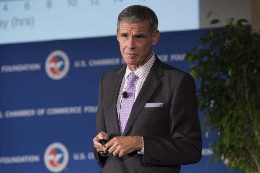 Dr. Eric Topol, Chief Academic Officer for Scripps Health the U.S. Chamber's Health Care Summit.