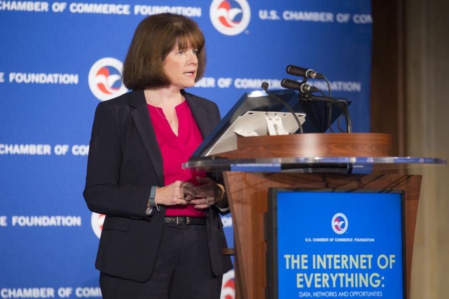 FTC Commissioner Ohlhausen speaks at the U.S. Chamber of Commerce Foundation's Internet of Everything event.