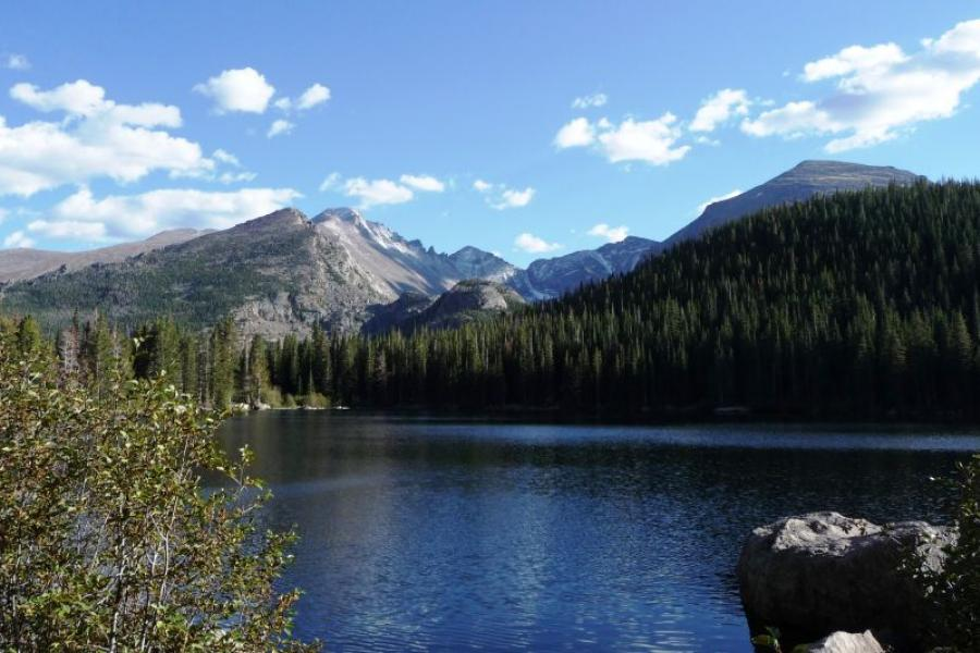 Rocky Mountain National Park. Photo credit: Daniel Mayer. Licensed under a Creative Commons license.