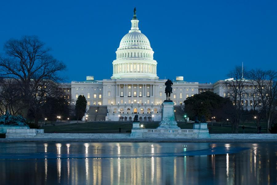 Portrait of the U.S. Capitol