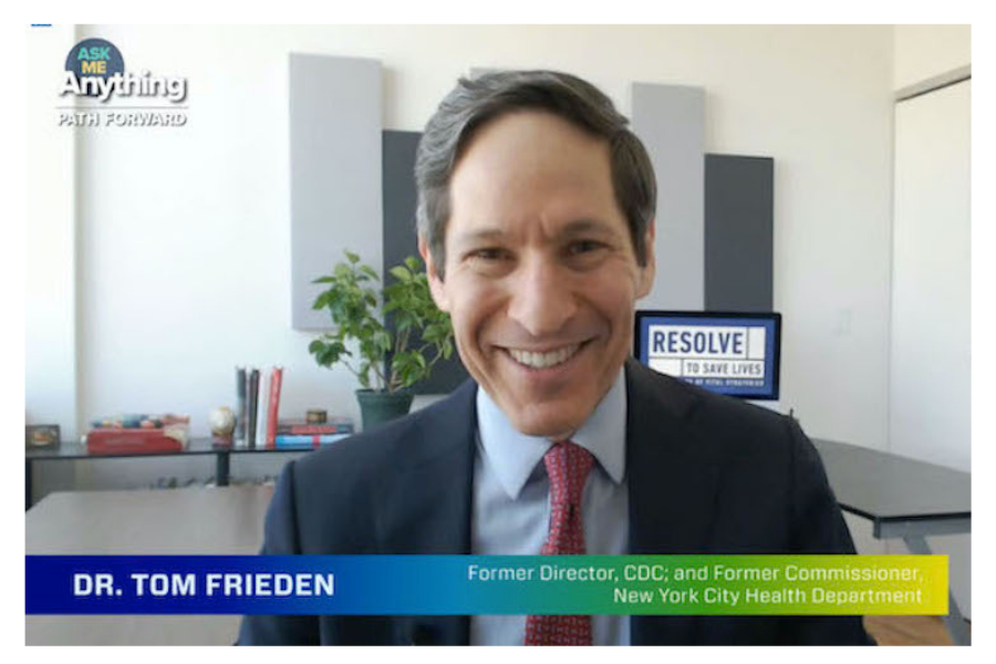Dr. Tom Frieden, former director of the CDC and former New York City Health Department Commissioner joins the U.S. Chamber Foundation's Path Forward: Ask Me Anything series.