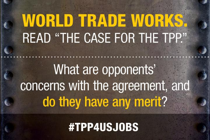 What are opponents' concerns with the Trans-Pacific Partnership, and do they have any merit?