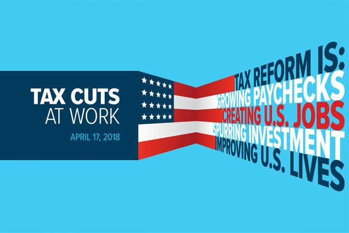 Tax cuts at work