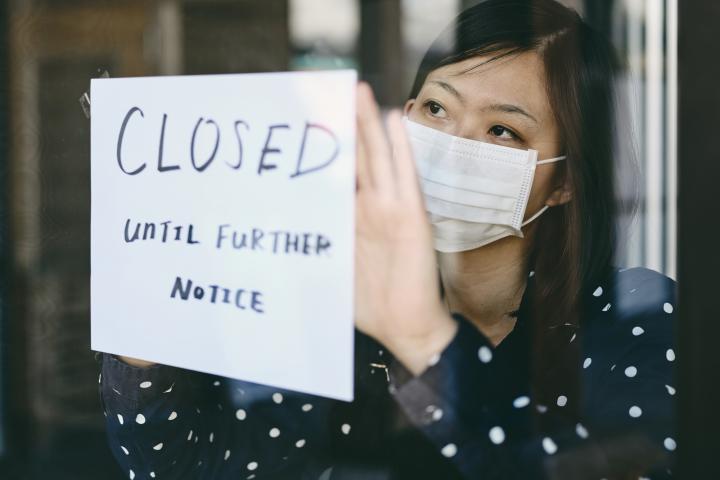 Shuttered small business