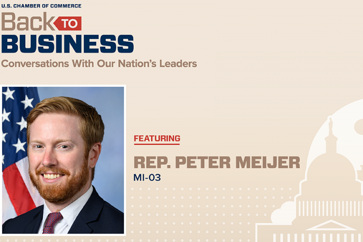 Rep. Peter Meijer - Back to Business