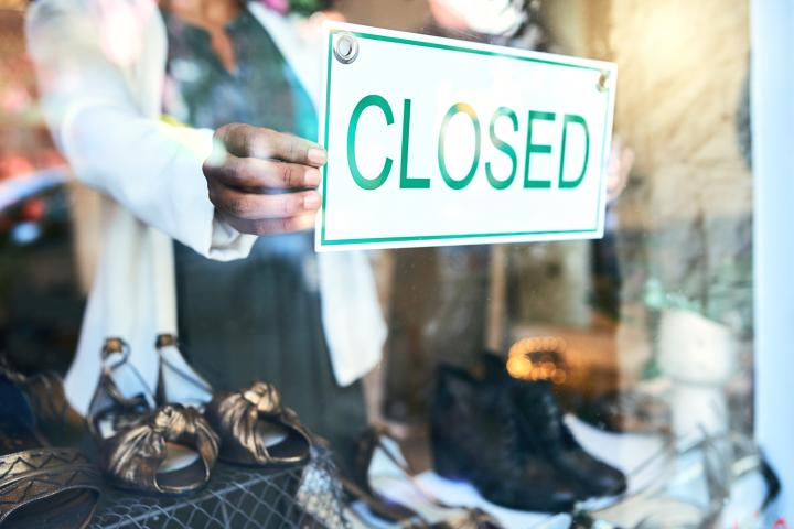 small business closing COVID