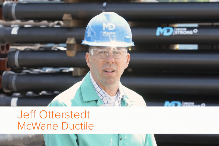 Jeff Otterstedt of McWane Ductile.