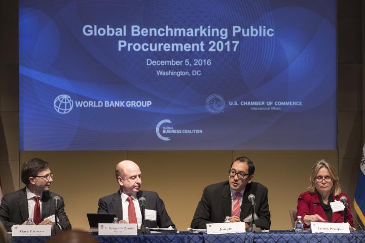 Benchmarking Public Procurement Event U.S. Chamber of Commerce