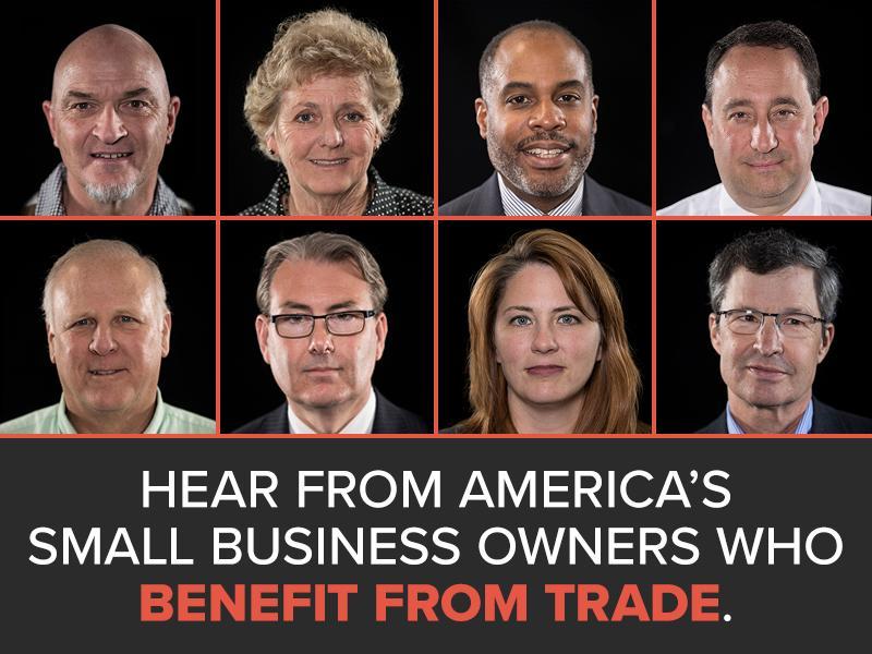Faces of Trade promo