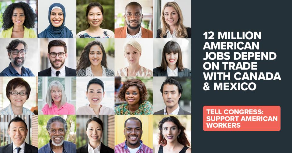 USMCA supports 12 million jobs