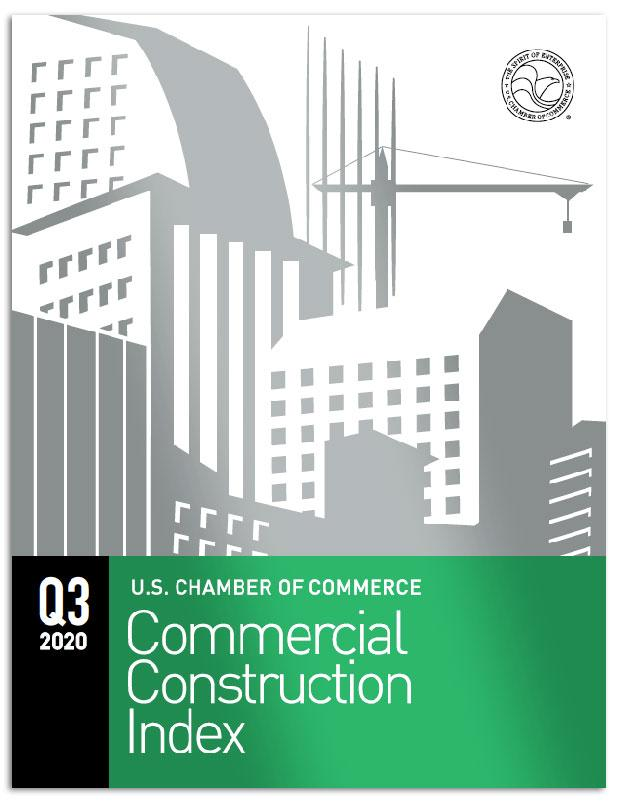 Cover of the Commercial Construction Index for Q3 2020